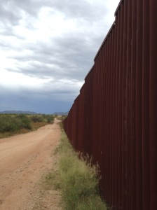 border wall with Joel Smith