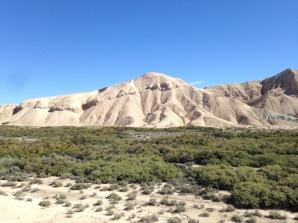 Badlands near China Ranch Tecopa CA