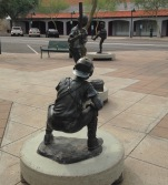 cool sculptures downtown Mesa AZ