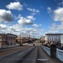 Selma from the bridge